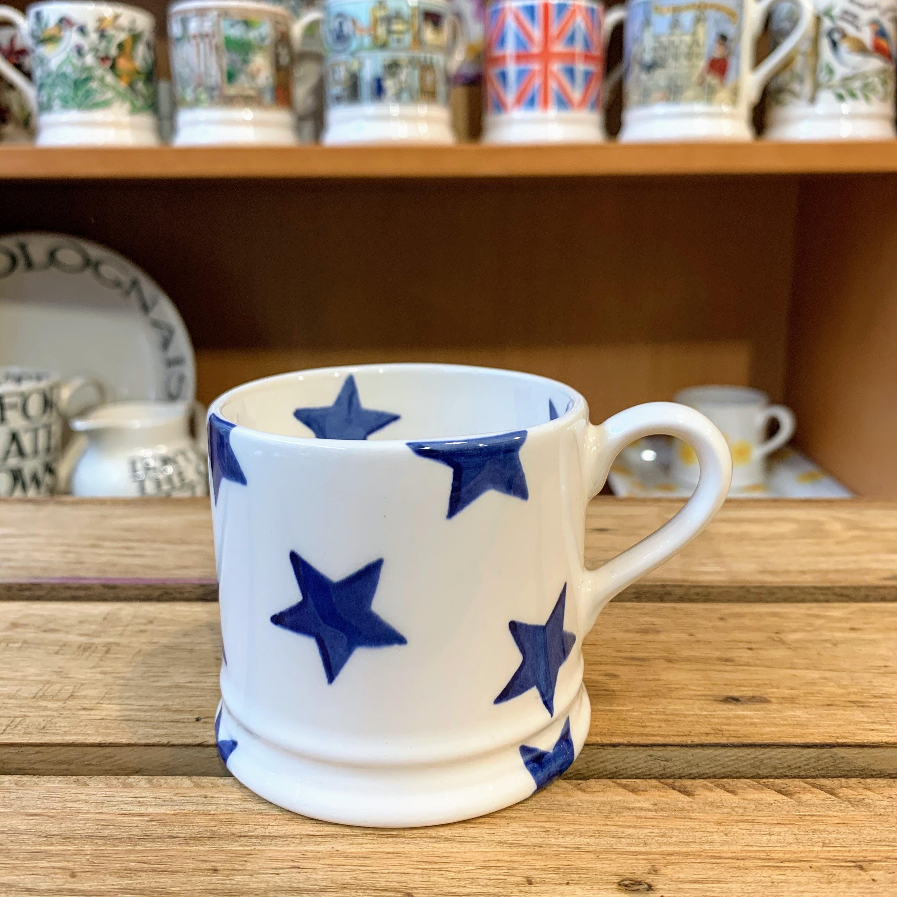 Emma Bridgewater Small Blue Star Mug