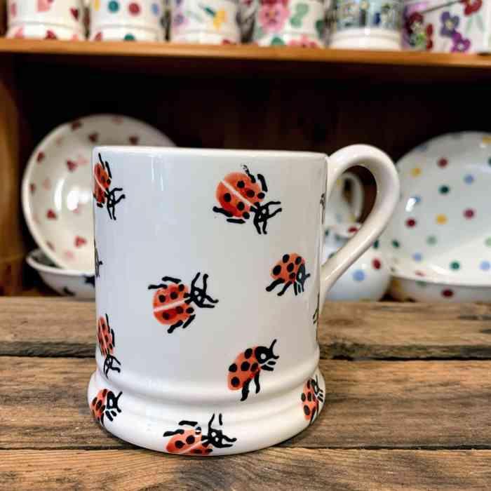 Emma Bridgewater Ladybird Half Pint Mug