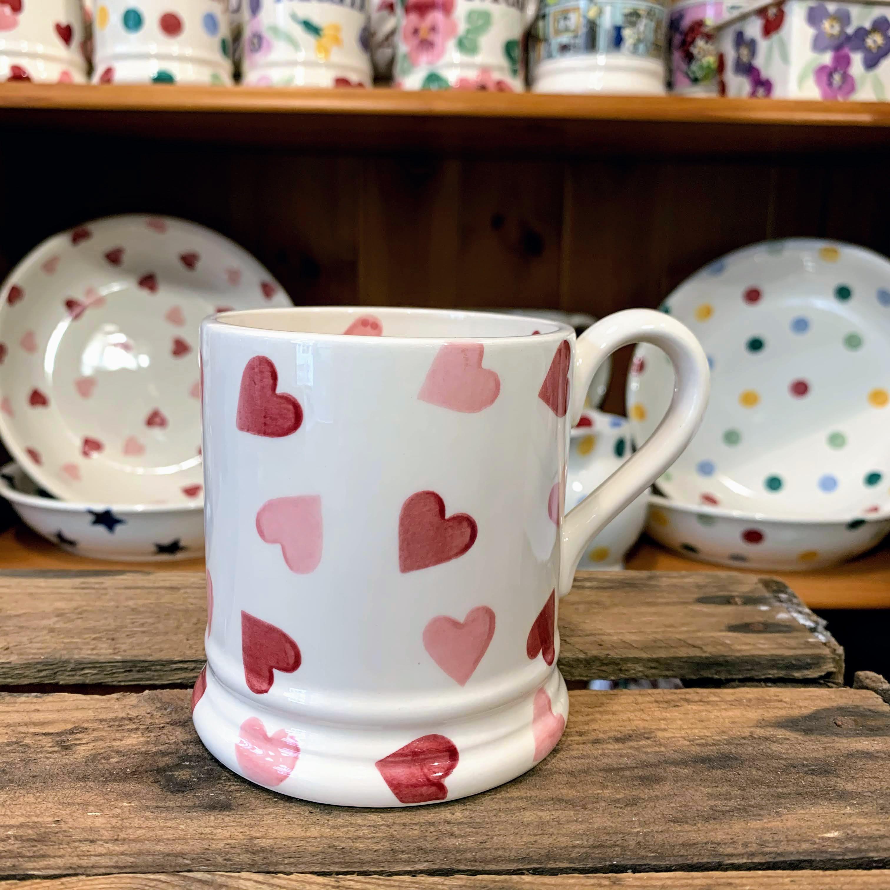 Emma Bridgewater Hearts Half Pint Mug
