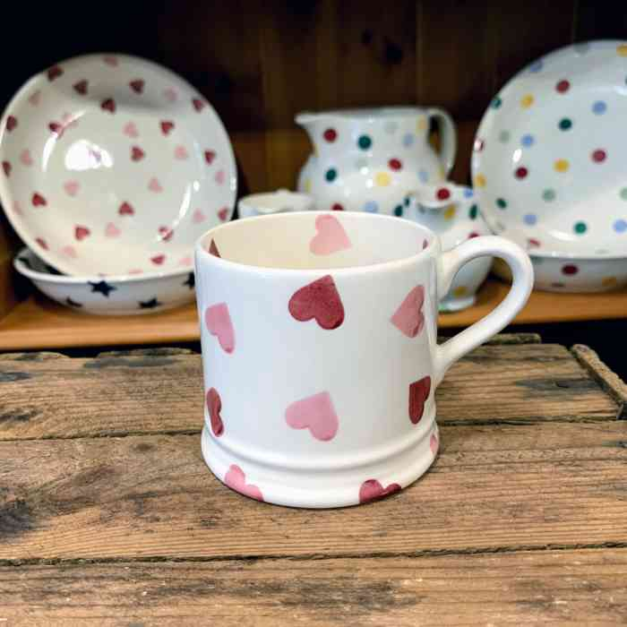 Emma Bridgewater Heart Small Mug