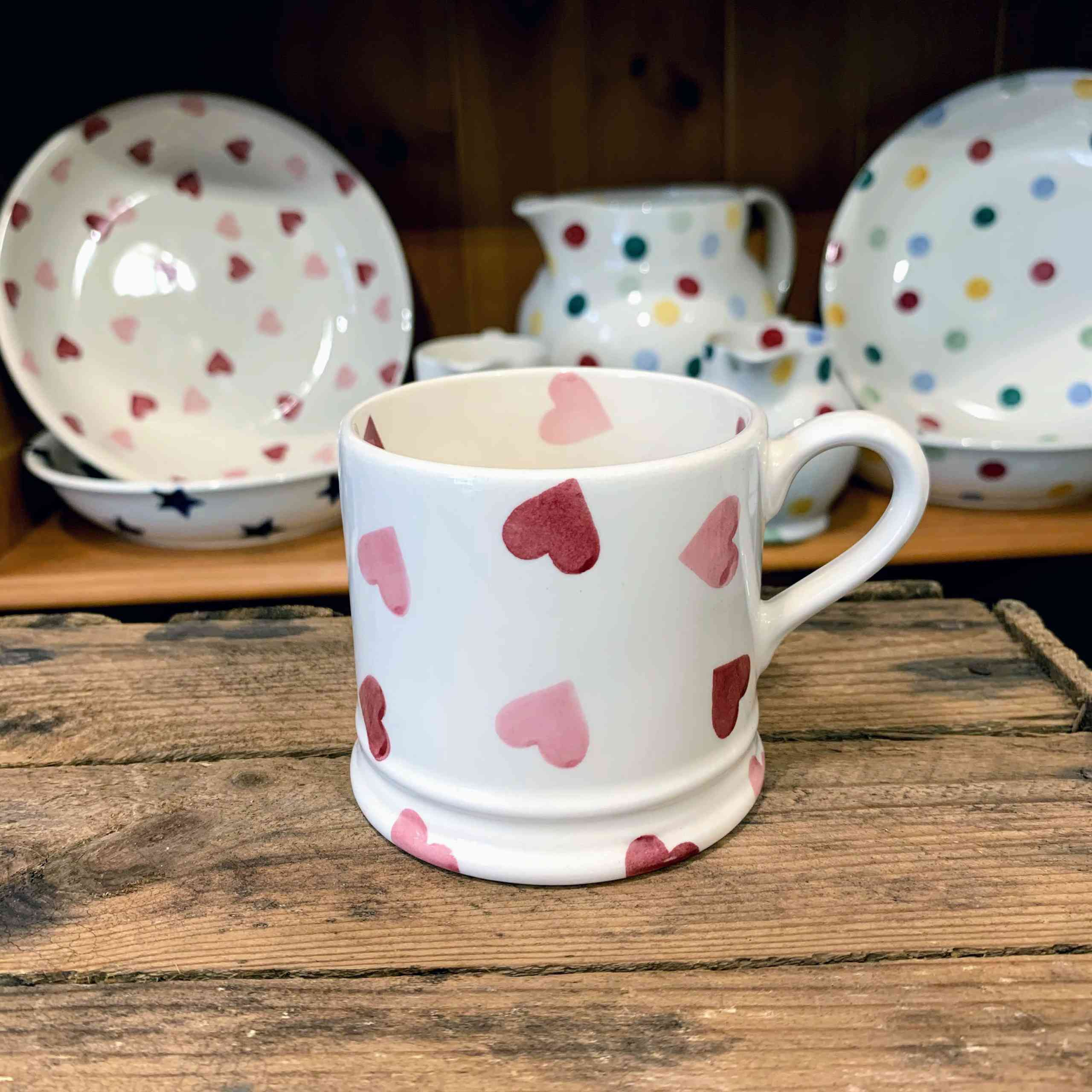 Emma Bridgewater Heart Small Mug