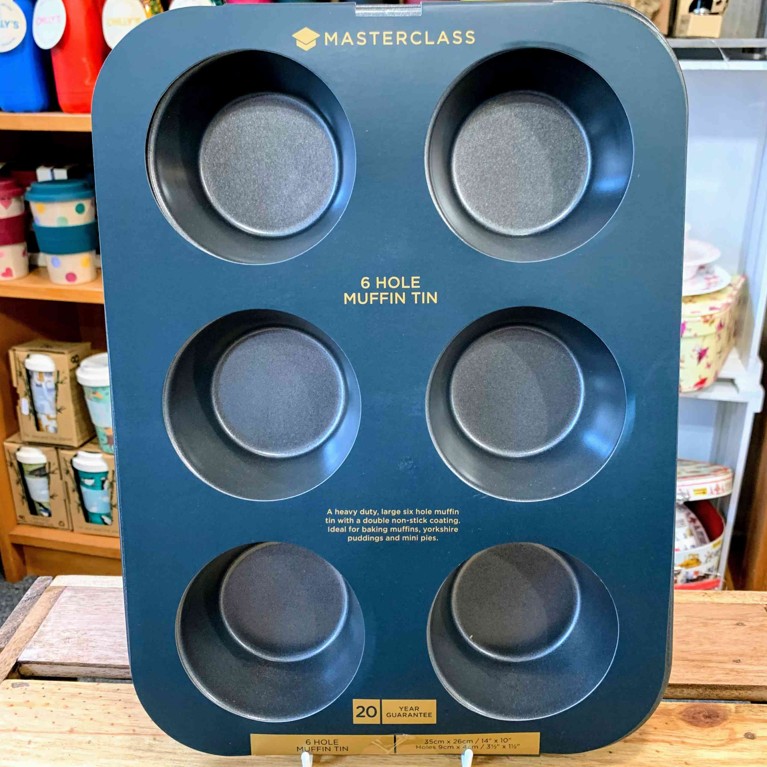 Masterclass 6 Hole Muffin Tin