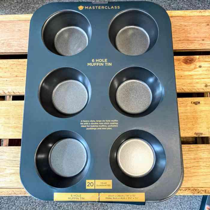 Masterclass 6 Hole Muffin Tin