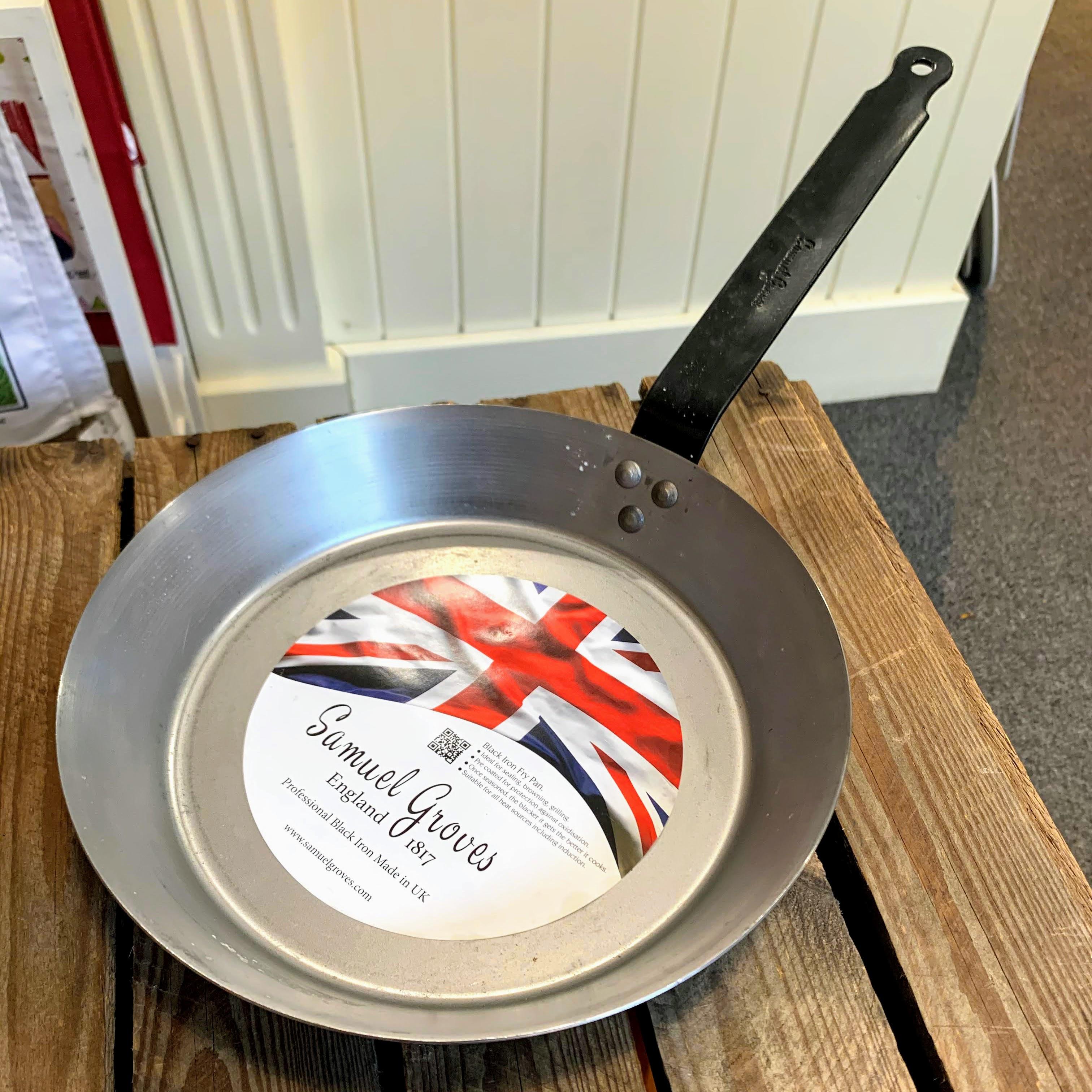 Black Iron Frying Pan