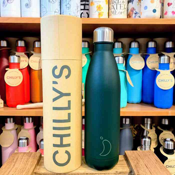 Matte Green Chilly's Bottle