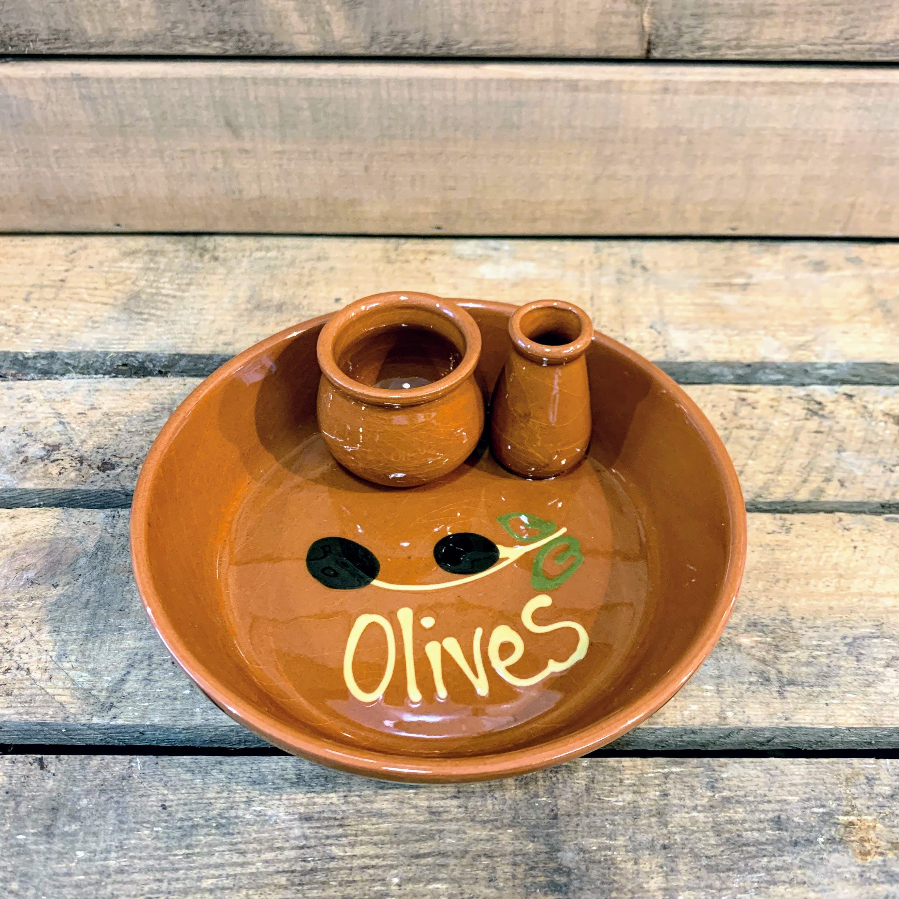 Terracotta Olive Bowl
