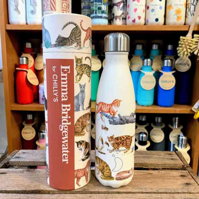 Cats Emma Bridgewater Chillys Bottle