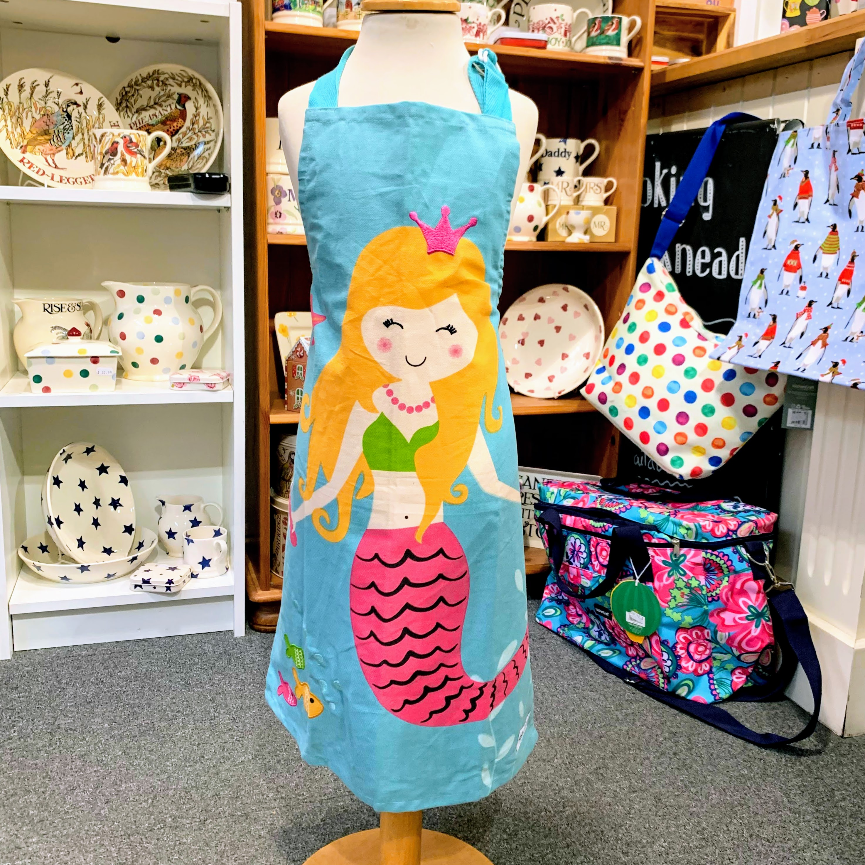 Mermaid Child's Apron