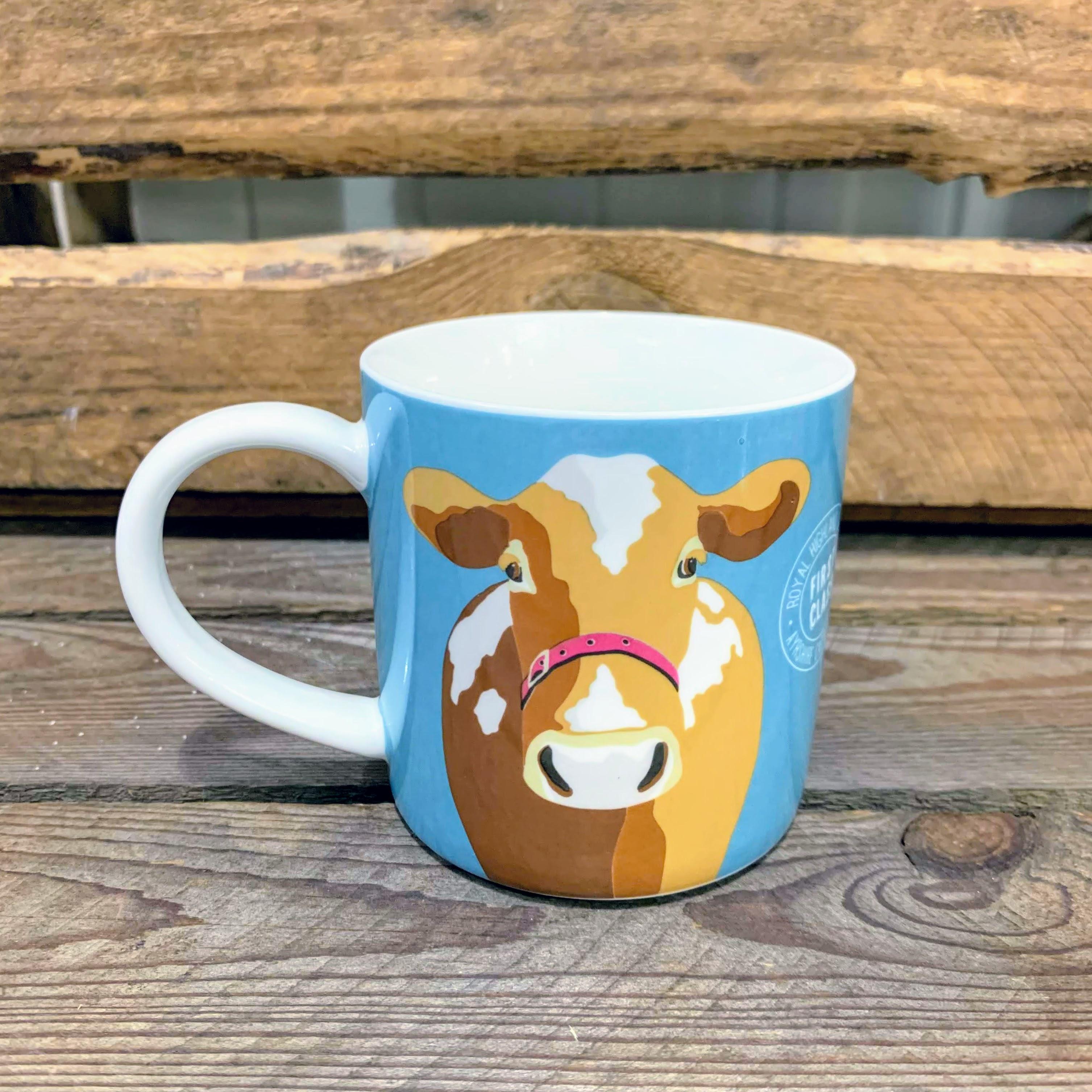 First Class Cow Mug