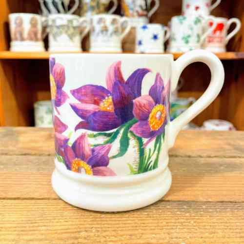 Emma Bridgewater Pasque Flower Half Pint Mug