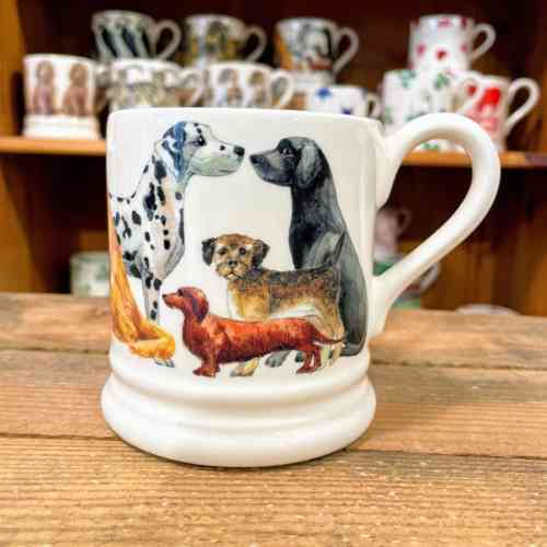 Emma Bridgewater Dogs All Over Half Pint Mug
