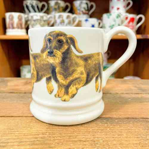 Emma Bridgewater Wire Haired Dashshund Half Pint Mug