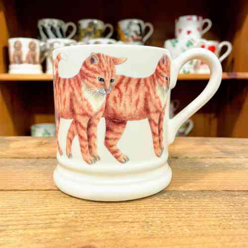 Emma Bridgewater Ginger Cat Half Pint Mug