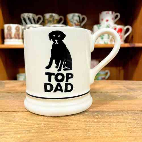 Emma Bridgewater Top Dad Half Pint Mug