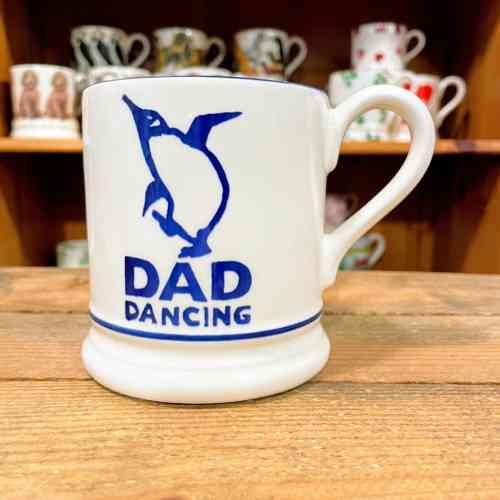 Emma Bridgewater Dad Dancing Half Pint Mug