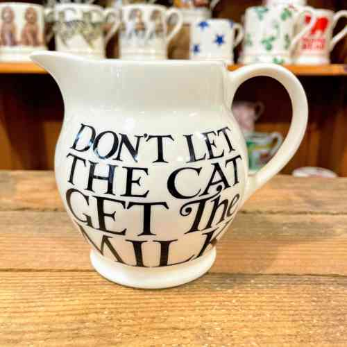Emma Bridgewater Black Toast All Over Half Pint Jug