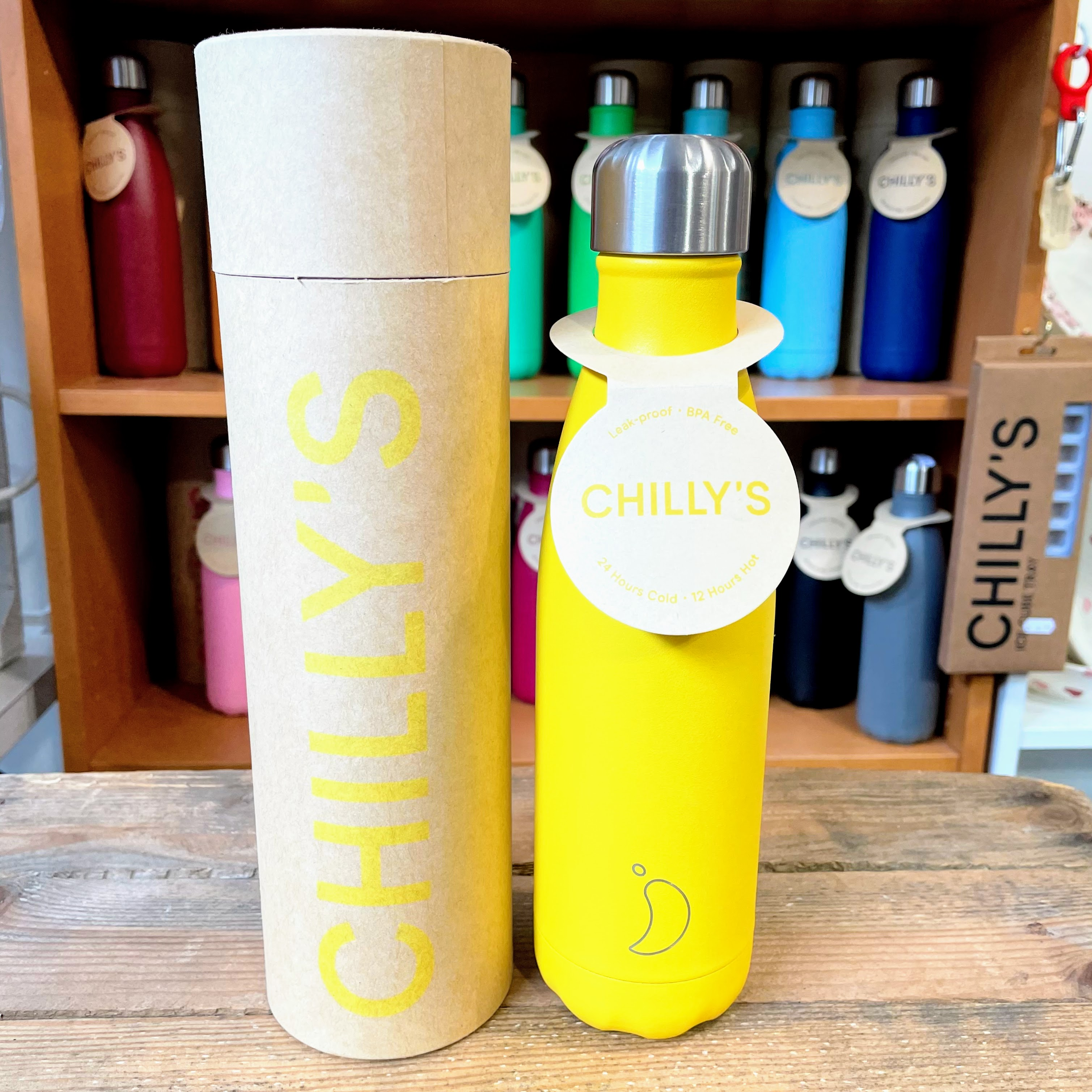 Burnt Yellow Chilly's Bottle