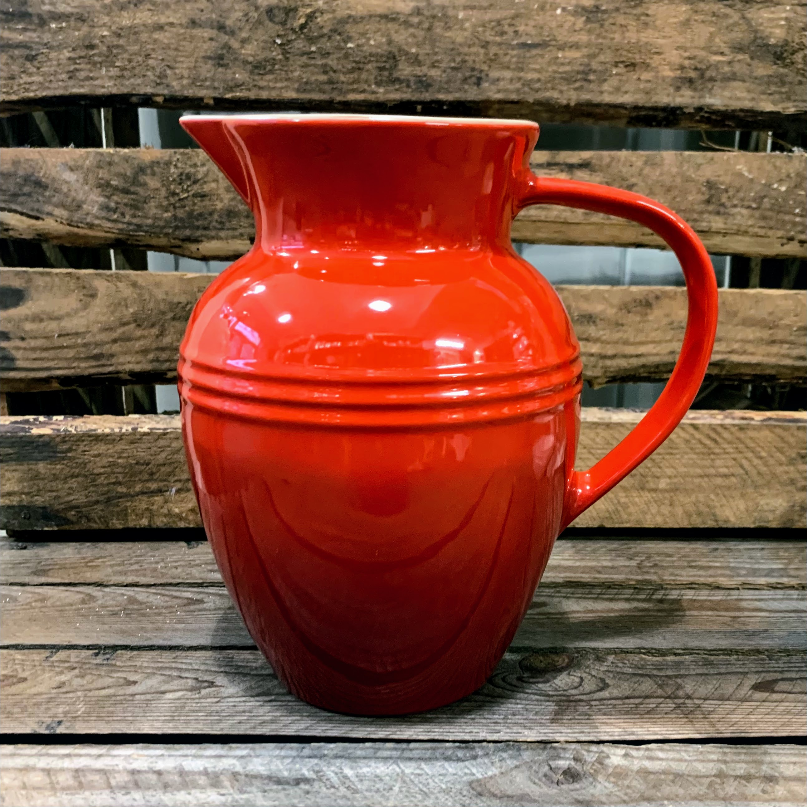 Le Creuset Cerise Pitcher - Limited Edition