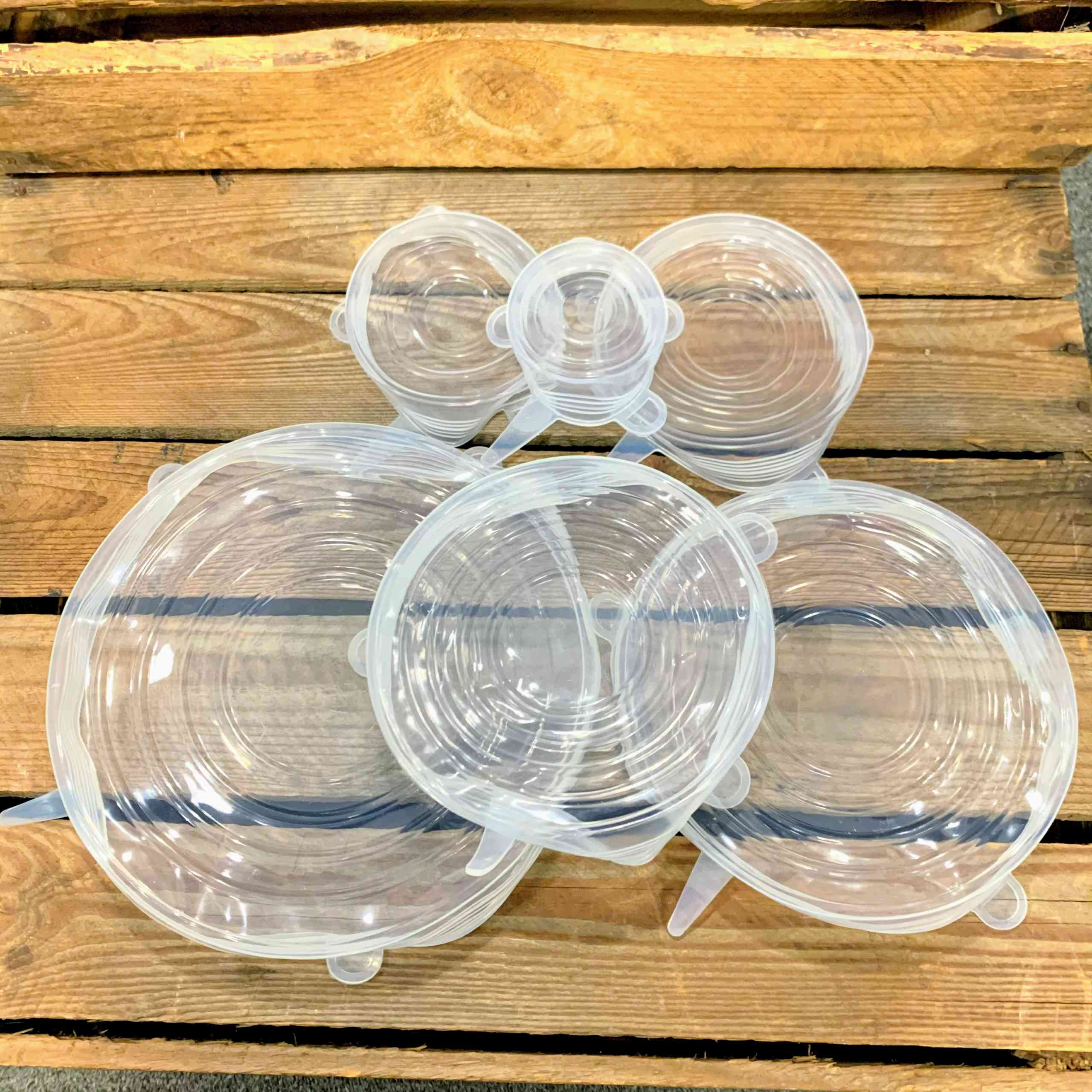 Silicone Stretchable Lids