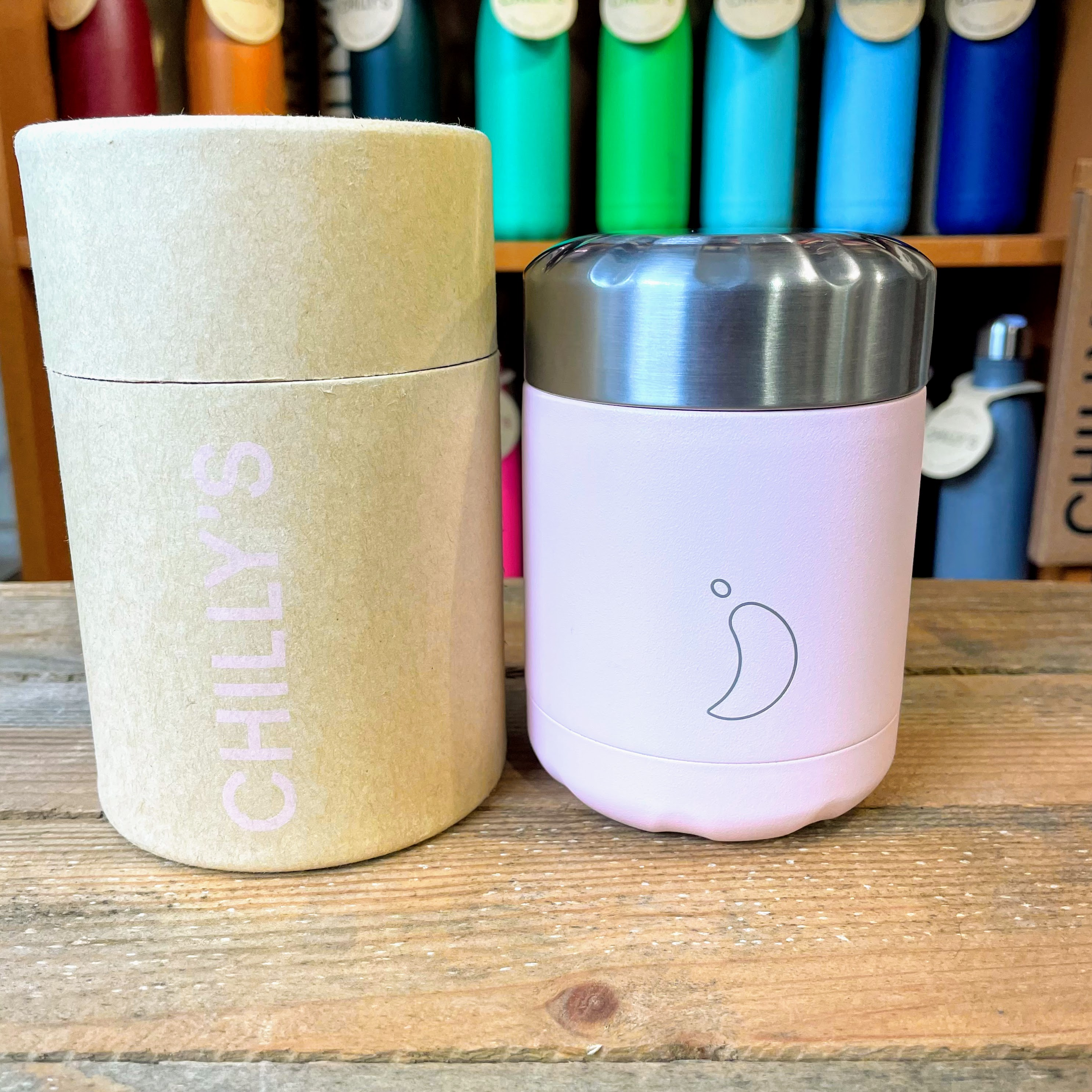 Chilly's Food Pot Blush Pink 300ml