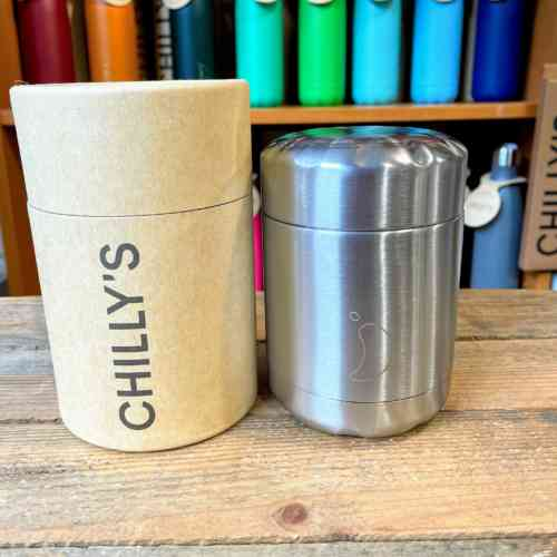 Stainless Steel Chilly's Food Pot - 300ml