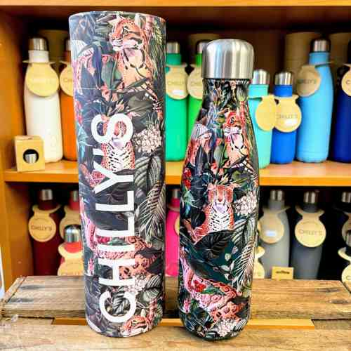 Tropical Leopard Chilly's Bottle